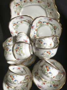 Royal Albert Art Deco tea service